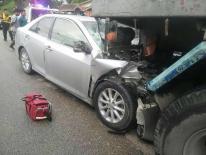 Thumbnail อุบัติเหตุ รถเก๋งชนกับรถเทรลเลอร์ มีผู้เสียชีวิต 1 ราย บาดเจ็บ 3 ราย